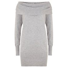 Buy Hygge by Mint Velvet Cowl Neck Tunic, Silver Grey Online at johnlewis.com