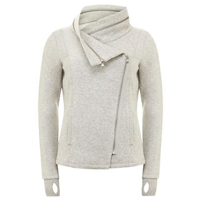 Hygge by Mint Velvet Cowl Jacket, Grey