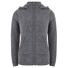 Buy Hygge by Mint Velvet Layered Hoodie, Grey Online at johnlewis.com