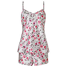 Buy Somerset by Alice Temperley Floral Animal Cami Set And Short Pyjama Set, Pink Multi Online at johnlewis.com