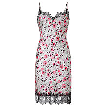 Buy Somerset by Alice Temperley Floral Animal Chemise, Pink Multi Online at johnlewis.com