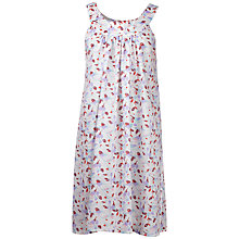 Buy Cyberjammies Bird Print Chemise, White/Multi Online at johnlewis.com