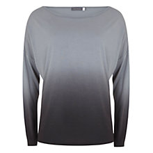 Buy Hygge by Mint Velvet Ombre Top, Grey Online at johnlewis.com