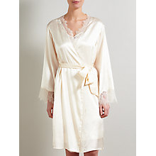 Buy Somerset by Alice Temperley Gatsby Bridal Kimono Robe, Ivory Online at johnlewis.com