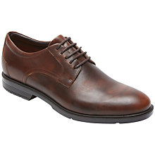 Buy Rockport City Smart Plain Derby Shoes, Brown Online at johnlewis.com