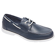 Buy Rockport Summer Sea 2-Eye Leather Boat Shoes Online at johnlewis.com