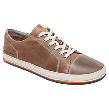 Buy Rockport Harbor Point Lace-Up Shoes, Chocolate Online at johnlewis.com
