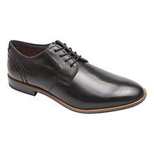 Buy Rockport Birch Lake Plain Toe Oxford Shoes, Black Online at johnlewis.com