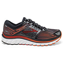 Buy Brooks Glycerin 13 Men's Running Shoes, Black/Red Online at johnlewis.com
