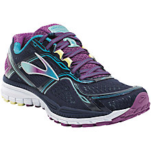 Buy Brooks Ghost 8 Women's Running Shoes, Black/Purple Online at johnlewis.com