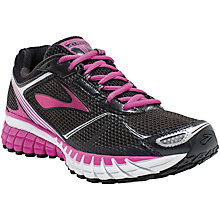 Buy Brooks Aduro 3 Women's Running Shoes, Black/purple Online at johnlewis.com