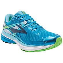 Buy Brooks Ravenna 7 Women's Running Shoes, Blue/Green Online at johnlewis.com