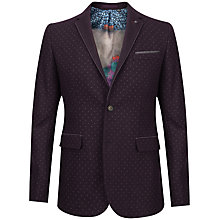 Buy Ted Baker Elko Spot Print Blazer Online at johnlewis.com