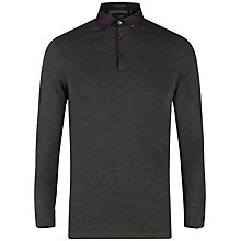 Buy Ted Baker Longlit Long Sleeve Polo Shirt Online at johnlewis.com