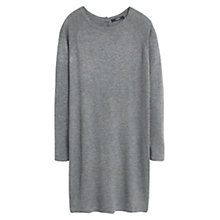 Buy Mango Jersey Jumper Dress, Marl Grey Online at johnlewis.com