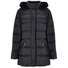 Buy Four Seasons Padded Faux Fur Hooded Jacket Online at johnlewis.com
