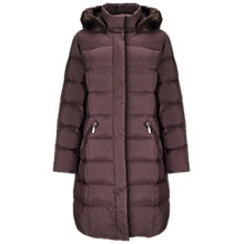 Buy Four Seasons Padded Faux Fur Hooded Coat Online at johnlewis.com