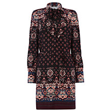 Buy Oasis 70s Amber Tunic Dress, Multi Online at johnlewis.com