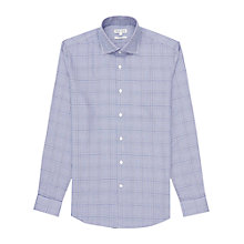 Buy Reiss Delainy Check Slim Fit Shirt, Blue Online at johnlewis.com
