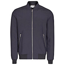 Buy Reiss Tommy Padded Bomber Jacket, Navy Online at johnlewis.com