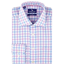 Buy Chester by Chester Barrie Bold Gingham Shirt, Blue/Pink/White Online at johnlewis.com
