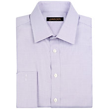 Buy Jaeger Staggered Weave Shirt, Lilac Online at johnlewis.com