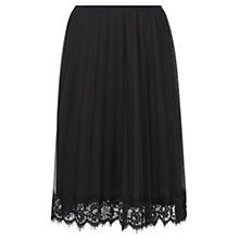 Buy Damsel in a dress Dylan Skirt, Black Online at johnlewis.com