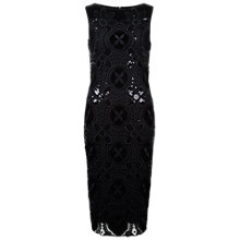 Buy Damsel in a dress Crochet Dress, Black Online at johnlewis.com