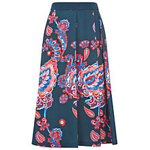 Buy Damsel in a dress A-Line Anika Skirt, Navy/Multi Online at johnlewis.com