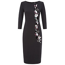 Buy Damsel in a dress Kanchan Dress, Black Online at johnlewis.com