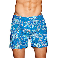 Buy Gant Hawaii Floral Swim Shorts, Blue Online at johnlewis.com