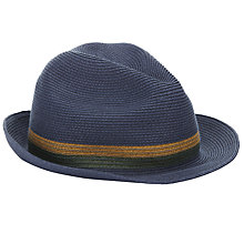 Buy Ted Baker Madhatt Straw Band Trilby Online at johnlewis.com