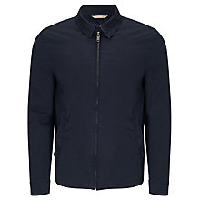 Buy John Lewis Cotton Harrington Jacket, Navy Online at johnlewis.com