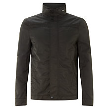 Buy John Lewis Funnel Harrington Jacket, Khaki Online at johnlewis.com