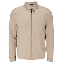 Buy John Lewis Cotton Harrington Jacket, Stone Online at johnlewis.com
