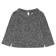 Buy Jigsaw Junior Girls' Sparkle Sweater, Grey Online at johnlewis.com