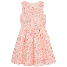 Buy Yumi Girl Sequin Lace Box Pleat Dress Online at johnlewis.com