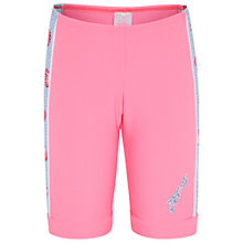 Buy Platypus Girls' Seashell Swim Bike Shorts, Pink Online at johnlewis.com