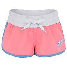 Buy Platypus Girls' Seashell Shortie Board Shorts, Pink Online at johnlewis.com