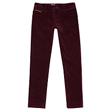 Buy Jigsaw Junior Girls' Stretch Velvet Jeans Online at johnlewis.com