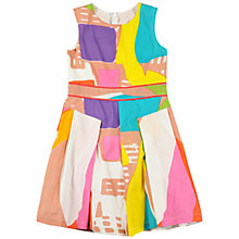 Buy Derhy Kids Girls' Geometric Printed Dress, Multi Online at johnlewis.com