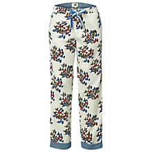 Buy White Stuff Flock of Birds Pyjama Bottoms, Biscuit Online at johnlewis.com