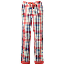 Buy White Stuff Blush Check Pyjama Bottoms, Blush Pink Online at johnlewis.com