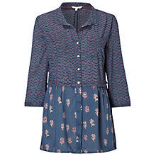 Buy White Stuff Doers & Makers Shirt Tunic, Ink Wash Online at johnlewis.com
