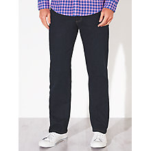 Buy John Lewis Stretch Denim Straight Jeans Online at johnlewis.com