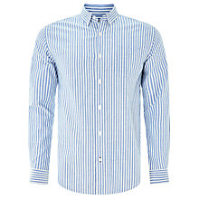Buy John Lewis Bengal Stripe Oxford Shirt, Blue Online at johnlewis.com