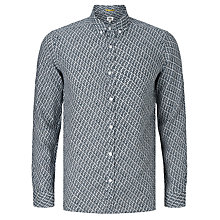 Buy Kin by John Lewis Urban Geo Print Linen Shirt, Blue Online at johnlewis.com