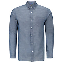 Buy Kin by John Lewis Slub Cotton Shirt, Blue Online at johnlewis.com