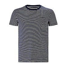 Buy JOHN LEWIS & Co. Crew Neck Striped T-Shirt Online at johnlewis.com