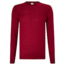 Buy Kin by John Lewis Textured Yoke Crew Neck Jumper Online at johnlewis.com